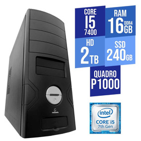 Computador Core I5 16gb Ddr4 Hd 2tb+ssd 240gb Nvidia Quadro