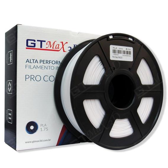 Filamento Pla Plus Branco - 1.75mm - 1kg