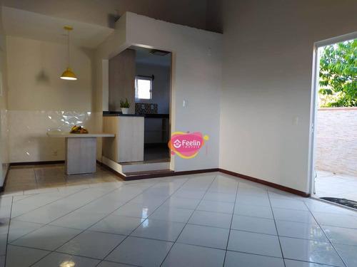Imagem 1 de 30 de Casa Com 3 Dormitórios Para Alugar, 130 M² Por R$ 3.600,00/mês - Campeche - Florianópolis/sc - Sc - Ca0015_feelin