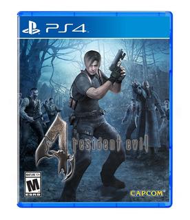 ¡¡¡ Resident Evil 4 Hd Para Ps4 En Whole Games !!!