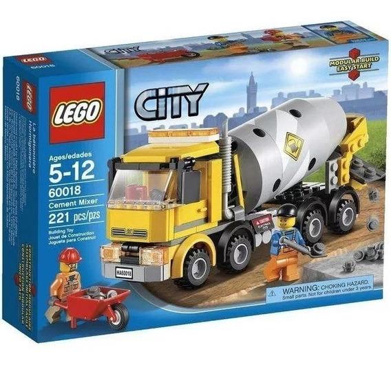 Lego City Camión Revolvedor Cement Mixer Set 60018