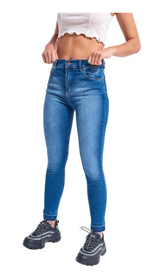 Jean Deep Flex Tiro Medio Super Elastizado Mujer 47street