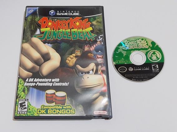 Donkey Kong Jungle Beat Game Cube Original Americano 100% Ok