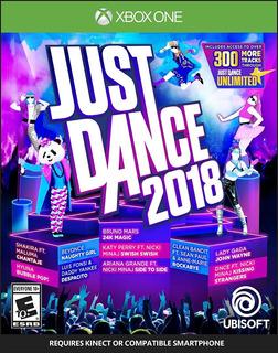 Just Dance 2018 Xbox One Fisico, Nuevo Y Sellado