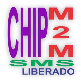 Chip Vivo Ilimitado M2m Para Rastreador + Plataforma