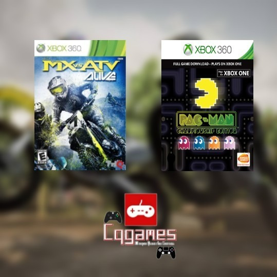 Pac-man Championship + Mx Vs Atv Alive Xbox 360 Digital