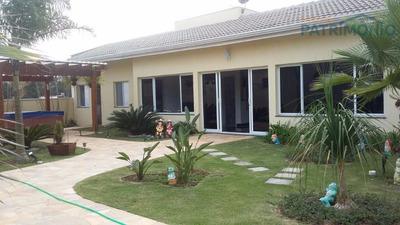 Casa Residencial À Venda, Loteamento Fechado Shamballa I, Atibaia. - Ca0327