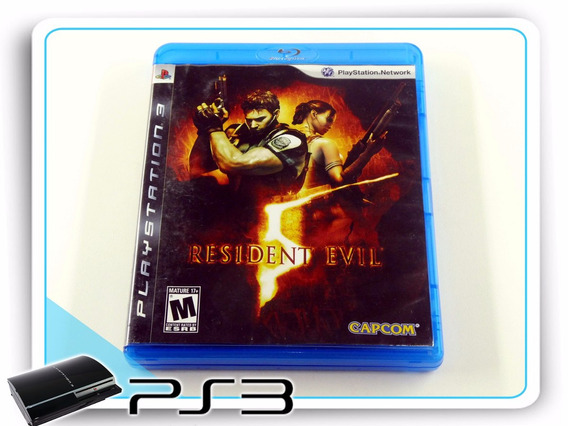 Resident Evil 5 Playstation 3 Ps3 Original