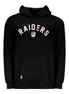 Moletom New Era Nfl Oakland Raiders Escudo Preto