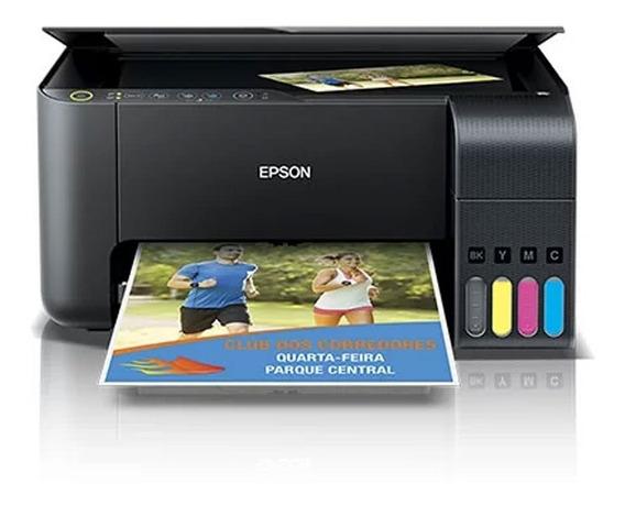 Impressora Multifuncional Epson Deskjet Eco Tank L3150 Wifi