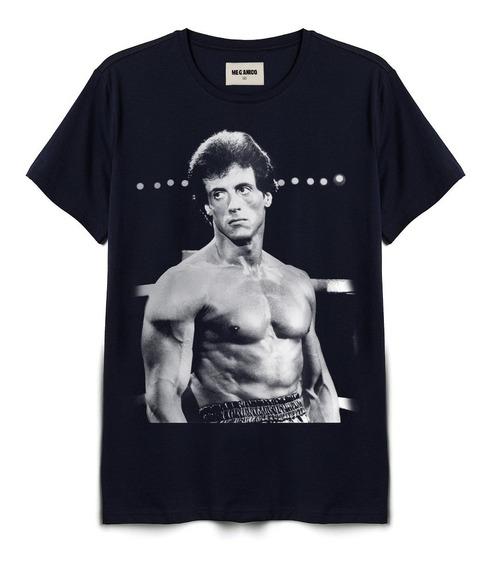 Playera Rocky Iv Marca Mecánico Jeans
