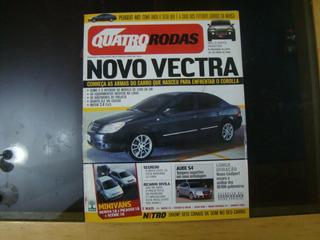 Revista 4 Quatro Rodas 542 Agosto 2005 Vectra Audi S4 R454