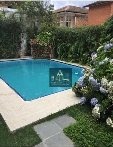 Belíssima Casa Á Venda Em Alphaville- Residencial 4 - Confira! - Ca2086