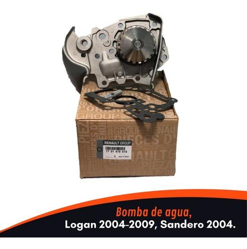 Bomba De Agua Logan 2004-2009 / Sandero 2004