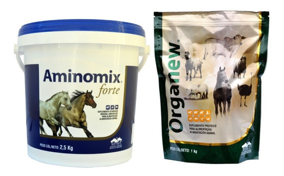 Kit Aminomix Forte 2,5 Kg + Organew 1kg