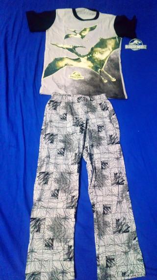 Jurassic World Pijama Infantil Talla 6 Brilla En La Oscurida
