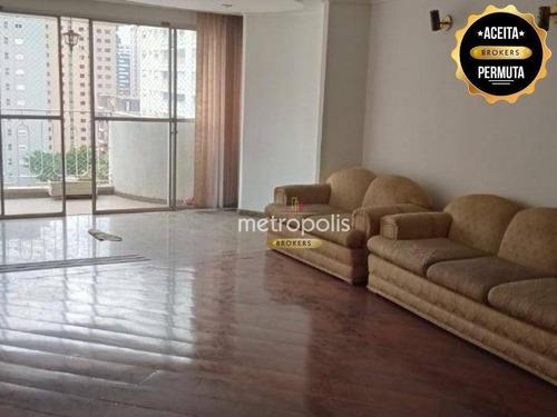 Imagem 1 de 15 de Apartamento À Venda, 285 M² Por R$ 900.000,00 - Santo Antônio - São Caetano Do Sul/sp - Ap6270