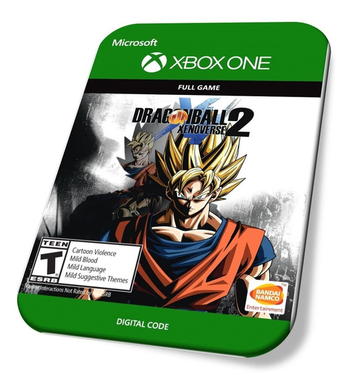 Dragon Ball Xenoverse 2 Xbox One Codigo De 25 Digitos