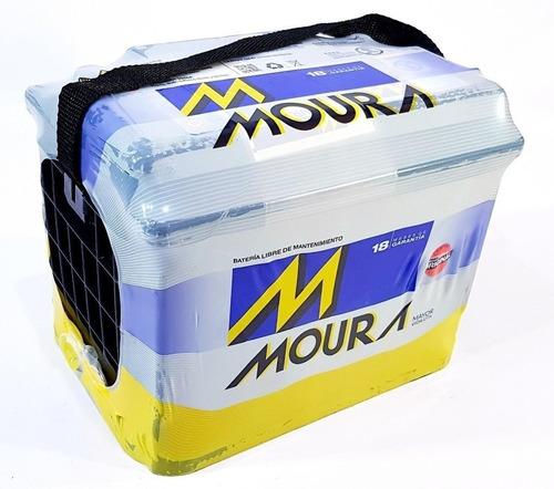 Bateria Moura 12x55 M22ed 50ah Cambio A Caba Sin Cargo