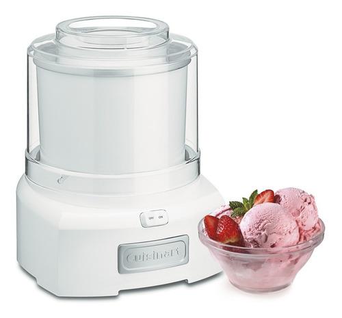 Maquina Automática De Helado Blanca Cuisinart Ice-21
