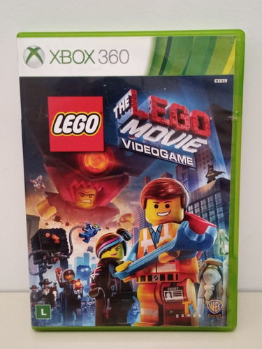 The Lego Movie Videogame Xbox 360 Midia Física Original