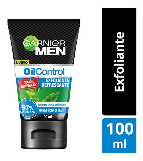 Exfoliante Matificante Garnier Men Oil Control 100ml