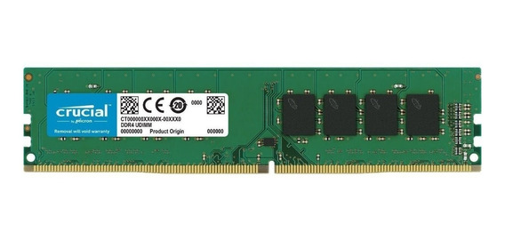 Memoria RAM 8GB 1x8GB Crucial CT8G4DFS8266