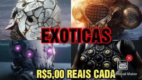 Destiny 2   Armaduras Exóticas