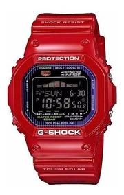 Relógio Casio G Shock Gwx 5600c-4 Vermelho G Lide
