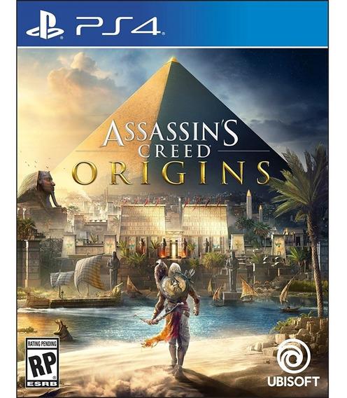 Assassins Creed Origins - Ps4 Mídia Física Lacrado