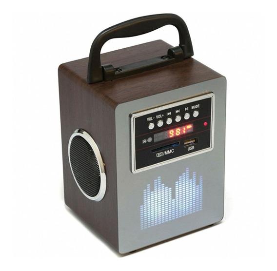 Rádio Portátil Divine Fm/sd/usb 20w Leadership4444 Kit 2