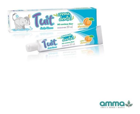 Tuit Crema Pasta Dental Niños Sin Flúor 1 Pz 50ml