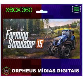 Farming 15 Xbox 360 Original - Mídia Digital
