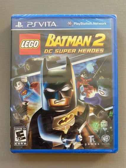 Lego Batman 2 Dc Super Heroes - Ps Vita - Mídia Física