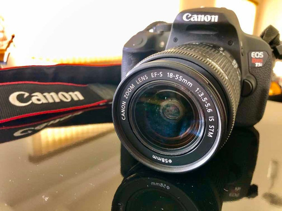 Canon T5i Kit + Tripé E Bolsa De Brinde (2.300 À Vista)