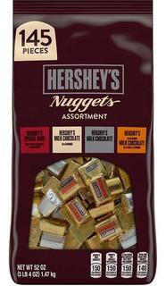 Hershey´s Nuggets 1.47kg 145 Unidades Americano Importado