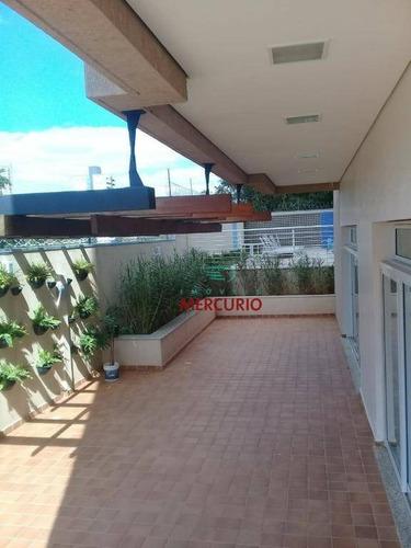 Apartamento Com 3 Dormitórios À Venda, 94 M² Por R$ 550.000,00 - Parque Jardim Europa - Bauru/sp - Ap0681