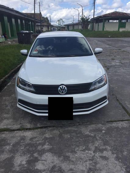 Volkswagen Jetta Color Blanco 2015 33k Km