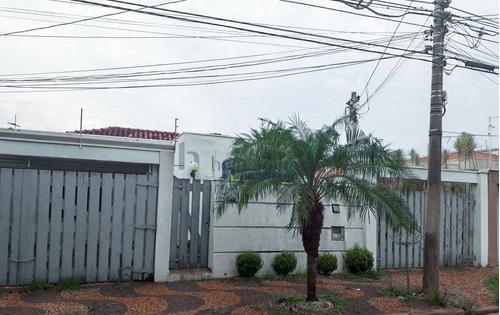 Casa Com 4 Dormitórios À Venda, 255 M² Por R$ 850.000,00 - Jardim Guanabara - Campinas/sp - Ca2247