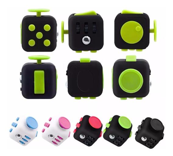 2 Fidget Cube Cubo Anti-stress Alta Qualidade Antsy