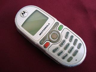 Celular Motorola C 200 Colecionador