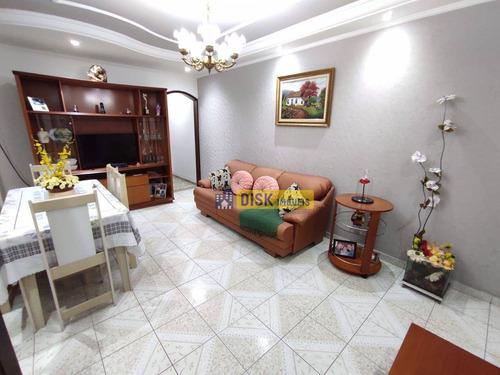 Imagem 1 de 20 de Sobrado Com 3 Dormitórios À Venda, 230 M² Por R$ 690.000 - Jardim Santo Ignácio - São Bernardo Do Campo/sp - So0795