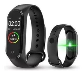 Pulseira Relógio Inteligente Smartband M4 Monitor Cardíaco
