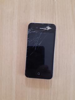 Apple iPhone 4s 16 Gb Vidro Trincado