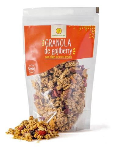 Imagem 1 de 5 de Granola Artesanal De Goji Berry - 200g - Made In Natural