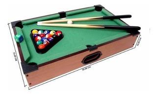 Tabletop Mini Pool Mesa 51cm X 31cm X 10cm Alto.
