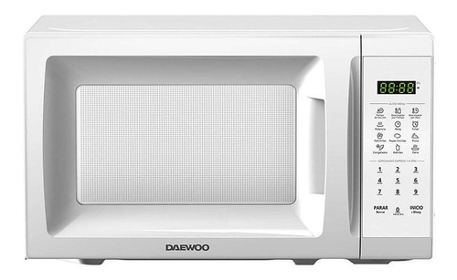 Horno De Microondas Daewoo Mod. Dmdp07s2cw Blanco 0.7 Pies