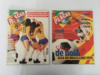 Revista Placar - Nº 1106 E 1106 B Agosto 1995 Futebol Femino