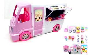 Van Truck Food Sorveteria Com Acessórios 39cm 1155-4