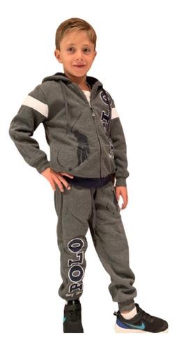Conjunto De Pants Y Sudadera Para Niño Long Beach Polo Club